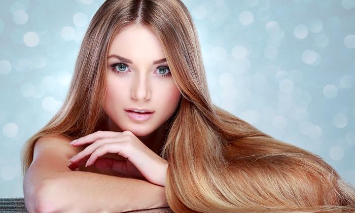 kamm2cut - Berlin: Hairstyling-Paket mit Intensivpflege und optional Färben oder Strähnchen bei kamm2cut ab 22,90 € (bis zu 60% sparen*)