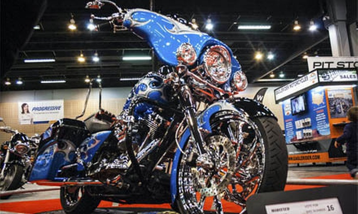 Progressive International Motorcycle Shows - Downtown Long Beach: Progressive International Motorcycle Shows Package for One or Two on December 7, 8, or 9 (Up to 56% Off)