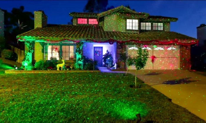 deals gg lights latest christmas holiday groupon point led lighting projector