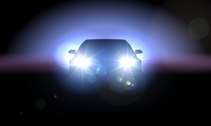 Cooks Collision - Napa - Soscol: Headlight Restoration at Cooks Collision (68% Off)
