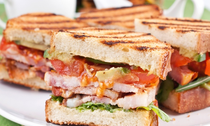 The Corner Cafe - Old Town Clovis: $10 for $20 Worth of Sandwiches, Burgers, and Salads at The Corner Cafe