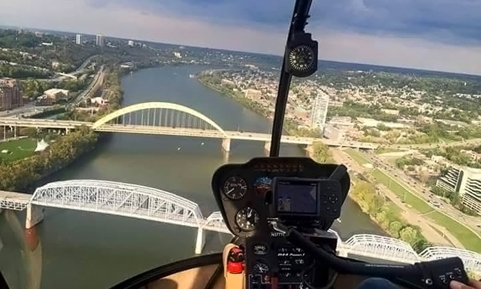 Stratus Helicopters - Stratus Helicopters: Scenic Helicopter Tour for Two from Stratus Helicopters (Up to 34% Off). Three Options Available.
