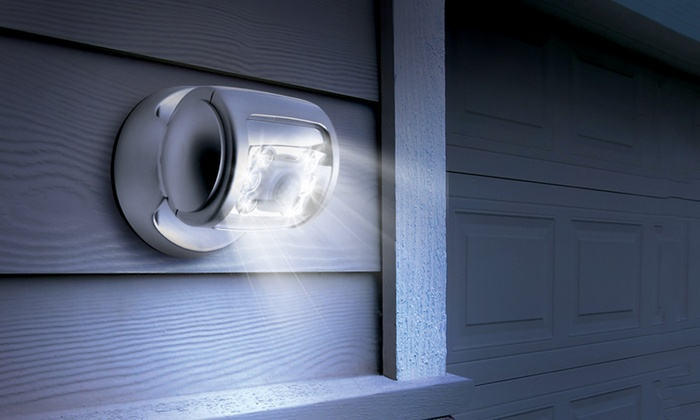 Groupon Goods Global GmbH: Up To Four Wireless LED Outdoor Lights From  £9.98 (