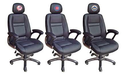 MLB Leather Office Chair