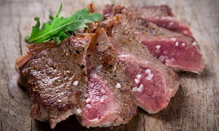 Barbablu - Barbablu: Menu con antipasti, tris di tagliata da 900 g a scelta con contorno, dolce e vino (sconto fino a 69%)