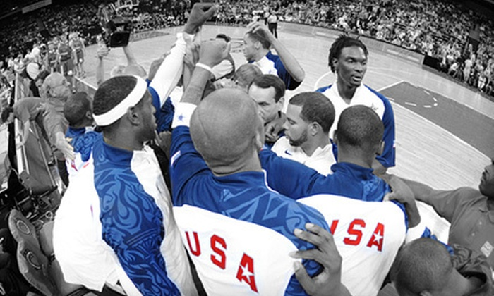 USA Basketball - Downtown - Penn Quarter - Chinatown: USA Basketball Men's and Women's Double-Header at Verizon Center on July 16 (Up to 43% Off). Two Options Available.