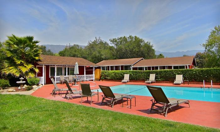 Ojai Rancho Inn - Arbolada: One- or Two-Night Stay in a Premium King Jacuzzi Room at Ojai Rancho Inn in California