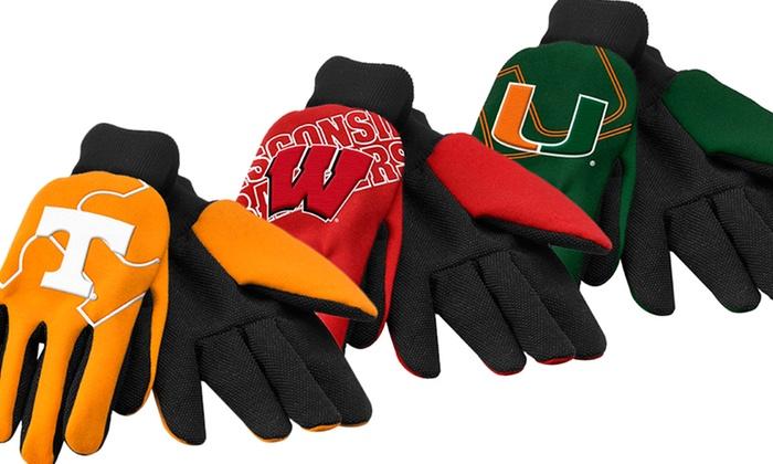 NCAA Raised Logo Gardening Gloves 2-Pack: NCAA Raised Logo Gardening Gloves 2-Pack. Multiple Schools Available. Free Returns.