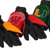 NCAA Raised Logo Gardening Gloves 2-Pack