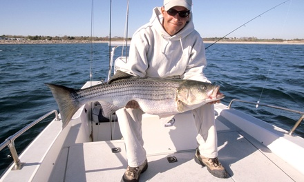$249 for a Four-Hour Fishing Charter for Two from Pocket Change Inshore Fishing Charters ($425 Value)