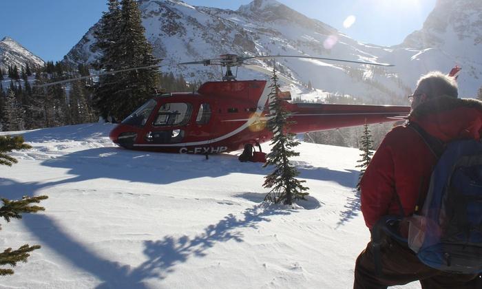 Rockies Heli Tours - Kananaskis, AB: Helicopter Tour with Wilderness Snowshoe Hike and Picnic from Rockies Heli Tours (Up to 50% Off)