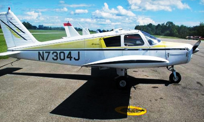 Adam Towne Aviation - Fulton County Airport: Learn to Fly Experience with Option to Bring a Passenger at Adam Towne Aviation (Up to 54% Off)