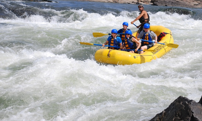 Whitewater Express - 3: Three-Hour Whitewater-Rafting Trip for One or Two from Whitewater Express (Up to 51% Off)