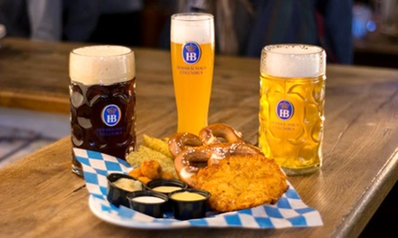 $13 for $25 Worth of Traditional German Food at Hofbräuhaus