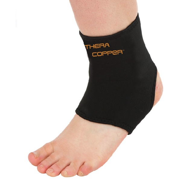 fc95ea3e32 3-Pack of Thera Copper Ankle, Knee, and Elbow Sleeves | Groupon