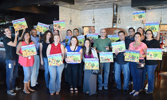 Best Painting Parties - Multiple Locations: Painting Party for One, Two, or Four at Best Painting Parties (Up to 51% Off)
