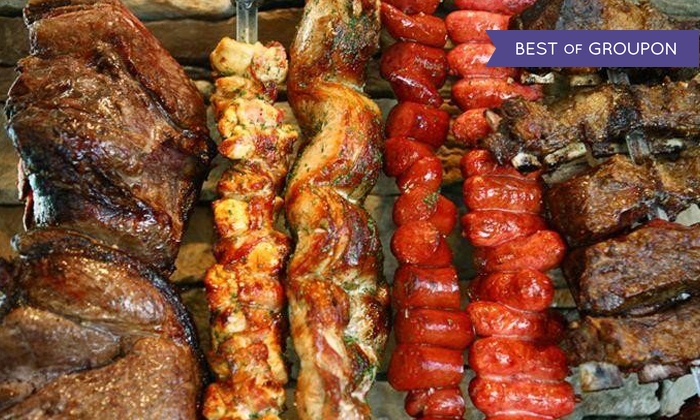 Midwest Grill - Multiple Locations: Brazilian Barbecue Dinner for Two or Four Adults at Midwest Grill (47% Off). Two Locations Available.