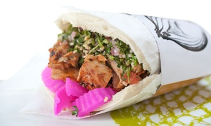 Falafill: Mediterranean Meal for Two or Four at Falafill (Up to 44% Off)