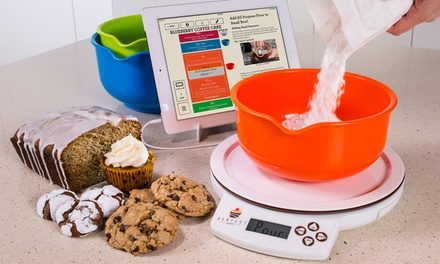 Brookstone App-Controlled Smart Baking Kit