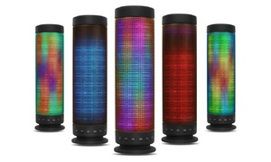 Kocaso Rainbow Led Portable Bluetooth Speaker