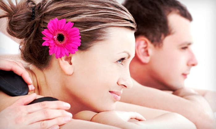 D2 Day Spa - Englewood: One or Three Hot-Stone Massages or One Couples Massage at D2 Day Spa (Up to 67% Off)