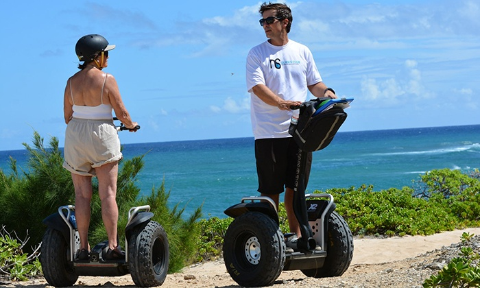 Hele Huli Adventure Center - Hele Huli Adventure Center: 90-Minute Beach Segway Tour for Two or Four at Hele Huli Adventure Center (Up to 55% Off)