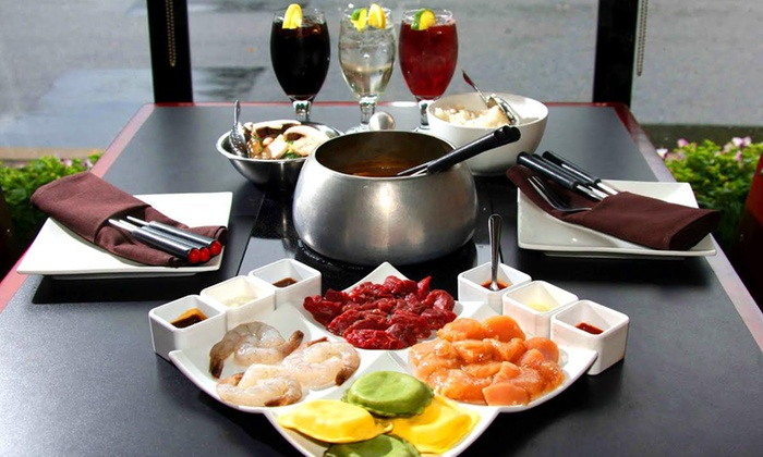 That Fondue Place - Edgewater: Fondue Dinner for Two or Four at That Fondue Place (Up to 40% Off). Four Options Available.
