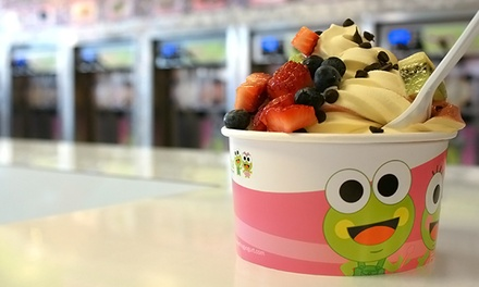 $8 for $14 Worth of Frozen Yogurt at Sweet Frog