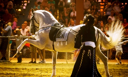 Admission for One, Two, or Four to Festival of The Horse & Drum on August 16 or 17 (Up to 52% Off)