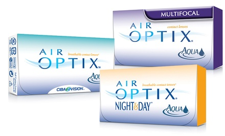 Six-Month Supply of Air Optix Contact Lenses from EZContactsUSA.com.