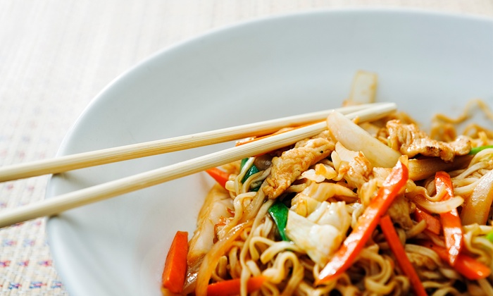 Thai Spices & Sushi Restaurant - Preston: Thai Food and Sushi at Thai Spices & Sushi Restaurant (Up to 47% Off). Three Options Available.