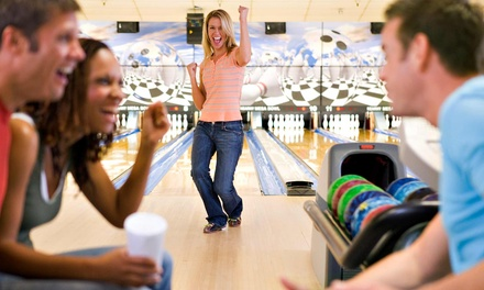 Three Games of Bowling with Shoe Rental for Two, Four, or Six at Wengers Bowl (Up to 58% Off)