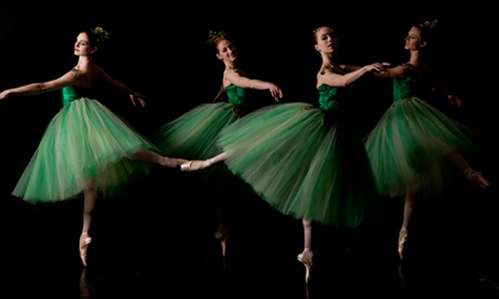 """Ballet West presents """"Emeralds"""" - Rio Grande: Ballet West Production of """"Emeralds"""" at Capitol Theatre on April 18 or 19 (Up to 56% Off). Two Seating Options Available."""