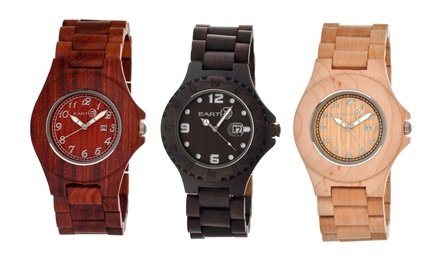 Earth Unisex Wood Watches