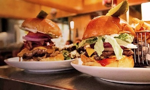 The Cannibal Café: Gourmet Burgers, Salads, Sides, and Drinks at Dinner for Two or Four at The Cannibal Café (Up to 43% Off)