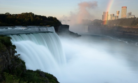 Stay with Dining and Casino Credits at Sheraton At The Falls Hotel in Niagara Falls, NY, with Dates into February