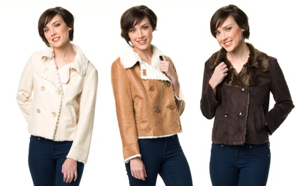 G.E.T. Simone Jackets in Brown, Luggage, or Nature