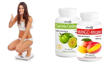 Una confezione di Garcinia Cambogia Lineadiet e una confezione di Mango africano
