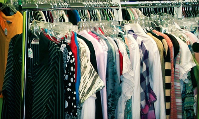 Priced Green - East Windsor: $10 for $20 Worth of Second-Hand Apparel at Priced Green