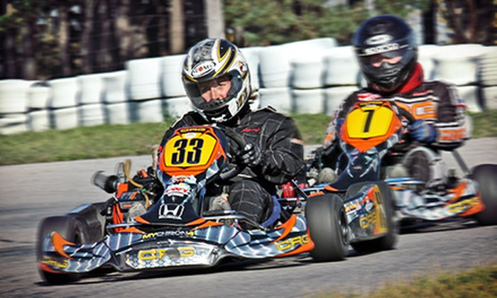 Mosport International Karting - Bowmanville: C$143 for Professional High-Speed Go-Karting Package with 15 Laps at Mosport International Karting ($289.97 Value)
