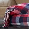 Cashmere-Like Plaid Throw Blankets