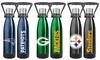 NFL 18oz. Stainless Steel Ultra Water Bottle: NFL 18oz. Stainless Steel Ultra Water Bottle