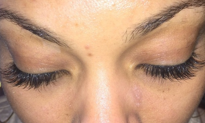 A True Mua - Fountain Village: Full Set of Eyelash Extensions at A True Mua (50% Off)