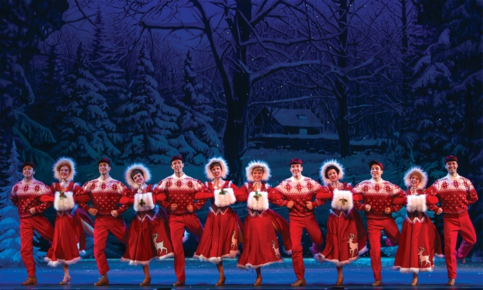 """Irving Berlin's White Christmas - Palace Theater: Irving Berlin's """"White Christmas"""" on November 6 at 8 p.m., or November 8 at 1 p.m. or 6:30 p.m."""