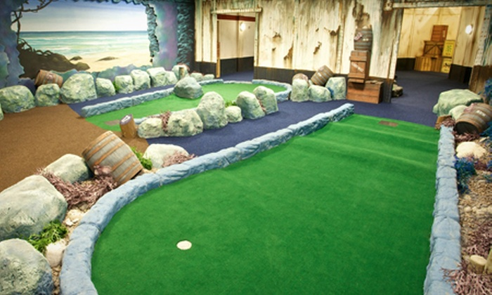 Paradise Island Adventure Golf - Livingston - Livingston: Paradise Island, Livingston: 18 Holes of Adventure Golf For Two (£7) or Four (£12) People (Up to 52% Off)