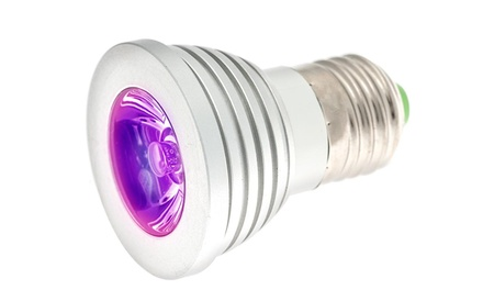 2-Pack of Magic LED Light Bulbs