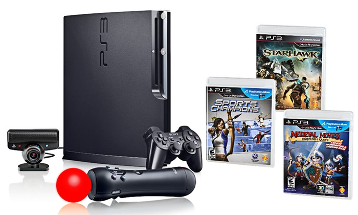 PlayStation Move and Game Bundle: $344.99 for PlayStation Move Bundle with Medieval Moves and Starhawk ($479.97 List Price). Free Shipping and Returns.