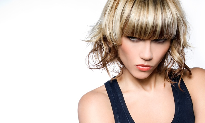 Harlow Boutique Salon - West University: Haircut with Optional Highlights or Color, or Package with Color and Retouches at Harlow Boutique Salon (Up to 65% Off)