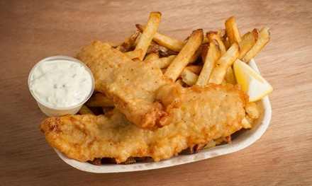 C$12 for Two Groupons, Each Good for $10 Worth of Poutine and Fish & Chips at Jeffer's Fryzz (C$20 Value)