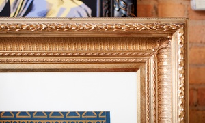 Frames Galore: Custom Framing Services at Frames Galore (Up to 66% Off). Two Options Available.